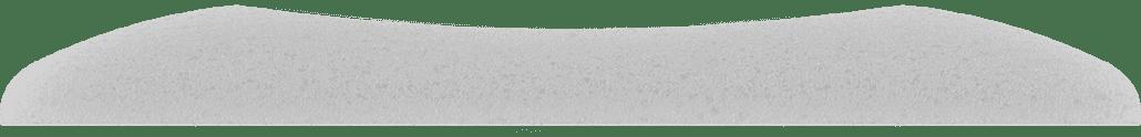 Cuscino happy DOWN - vista laterale schiuma