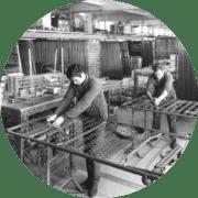 1920 – Production de literie et de suspensions rembourrées happy