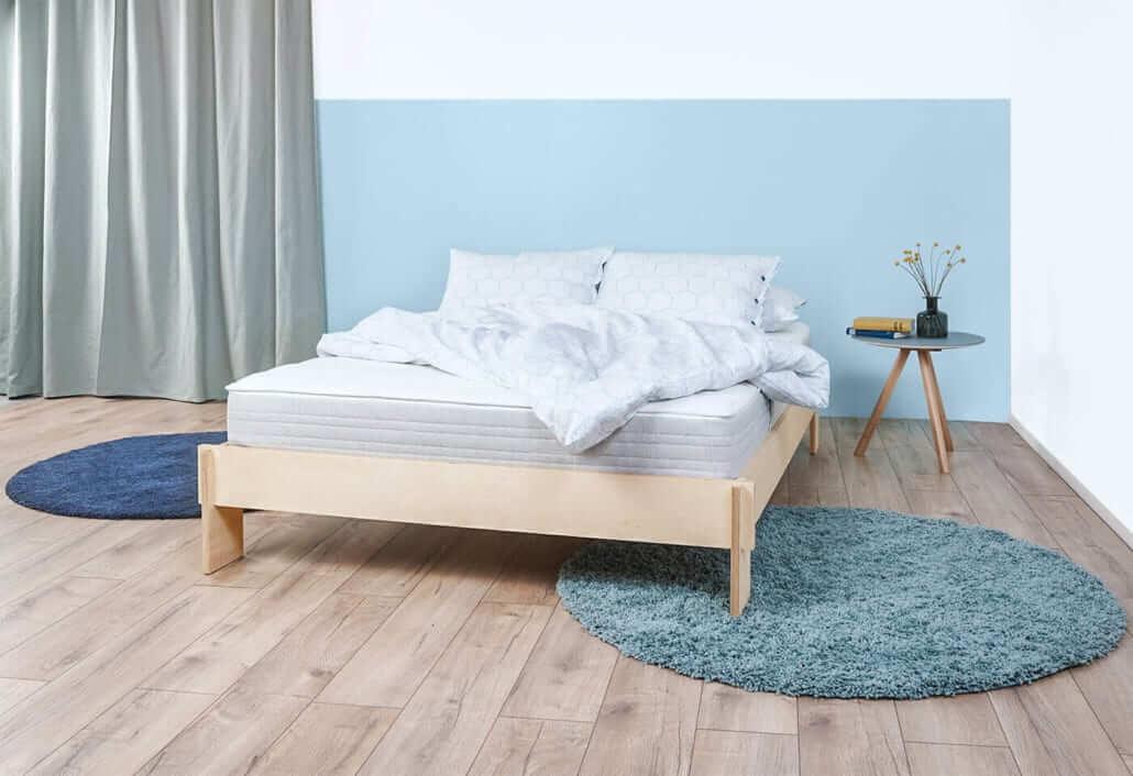 happy-Bett Bettrahmen mit Lattenrost