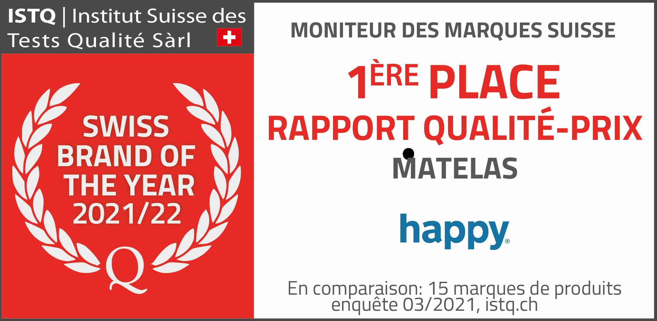 happy 1ère place rapport qualité-prix