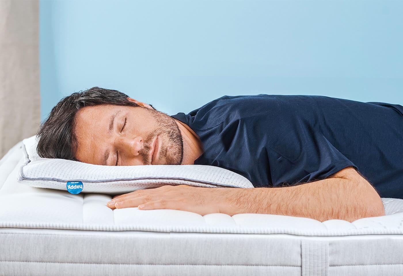 happy DOWN, l'oreiller pour ceux qui dorment sur le ventre