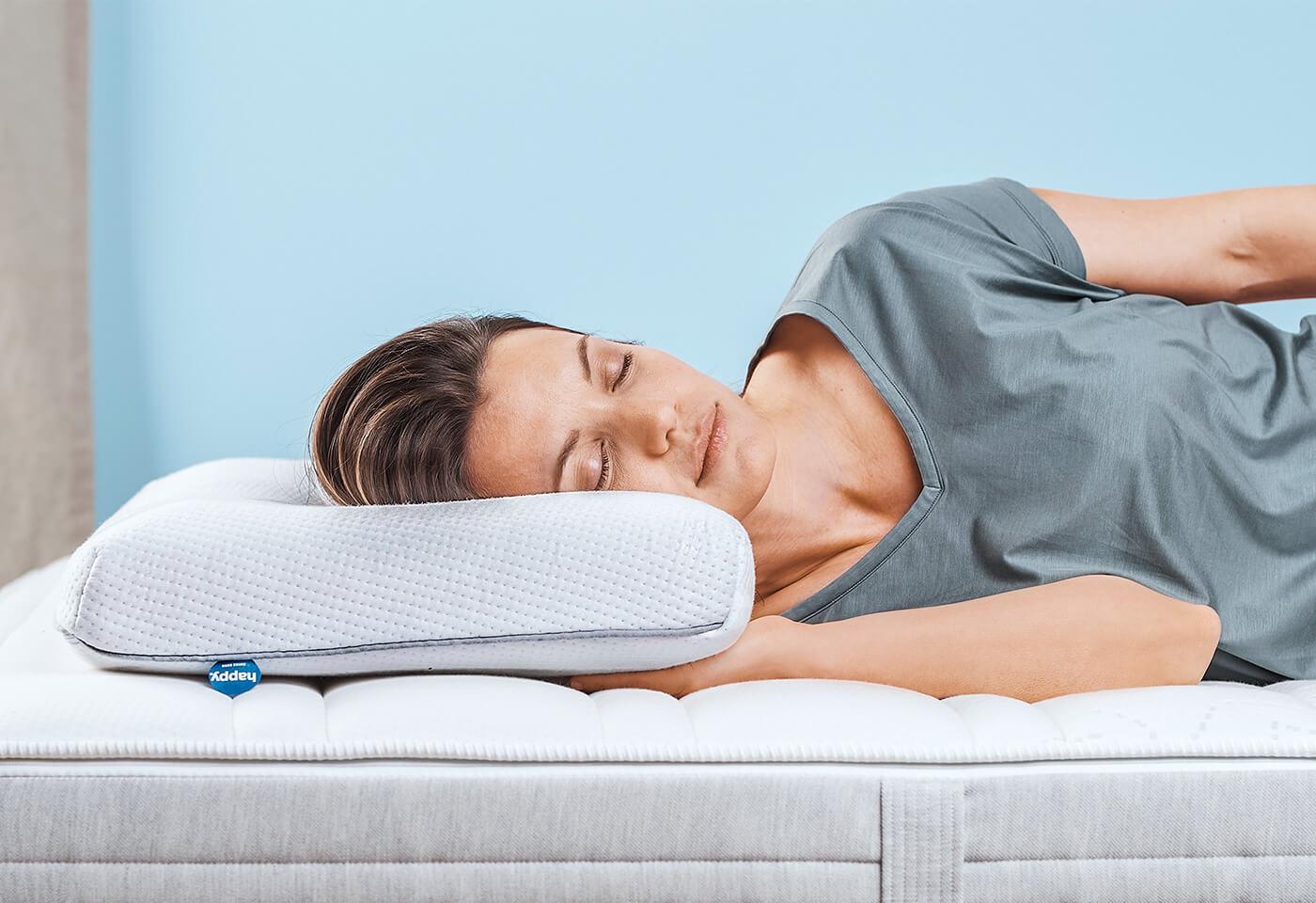 happy SIDE, l'oreiller pour ceux qui dorment sur le côté