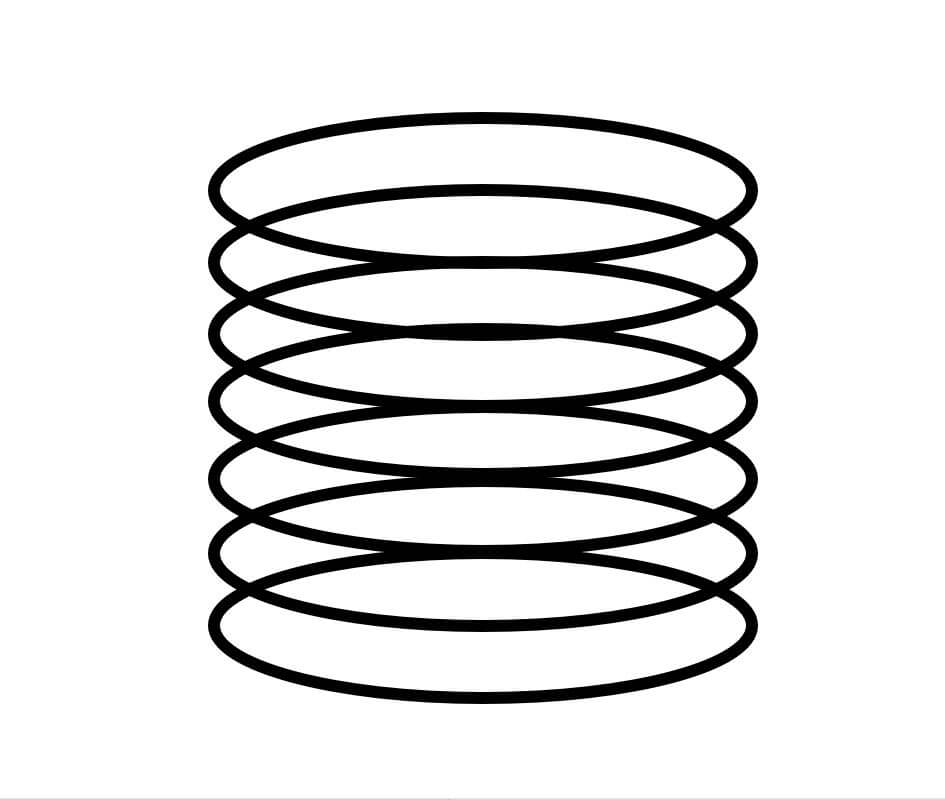 Federtyp Zylinder