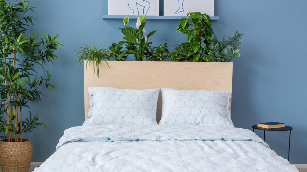 Schritt 6: Pflanzen eintopfen - happy DIY Headboard